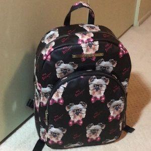 New Betsy Johnson doggie backpack Maltese